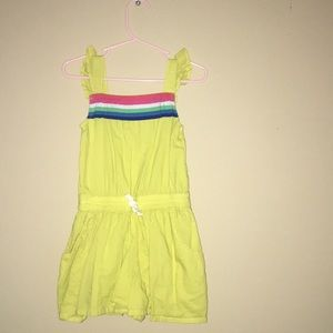 Mini Boden one piece short dress size 2-3 years.
